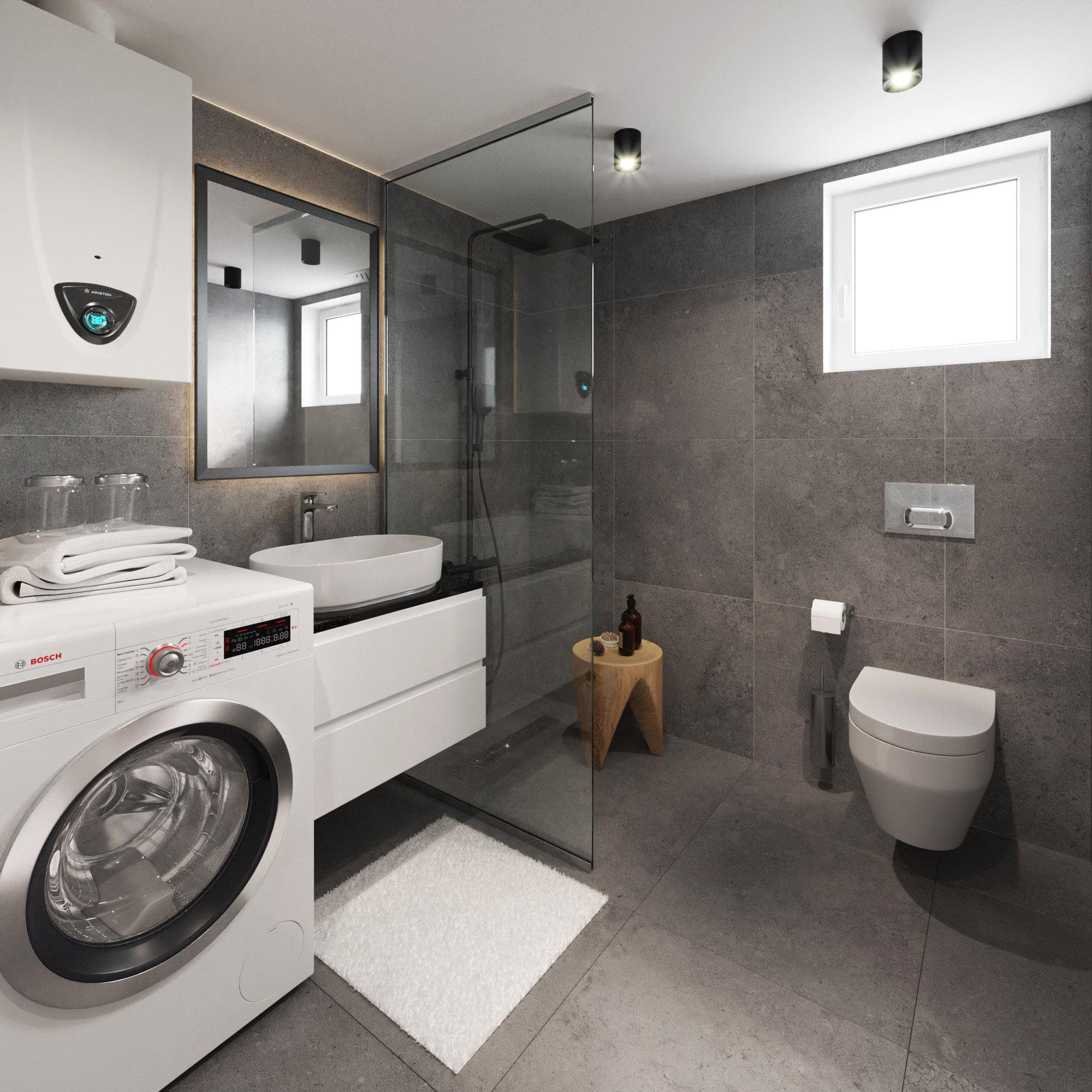 Anneks til sommerhus med badeværelse og toilet fra www.solundliving.dk